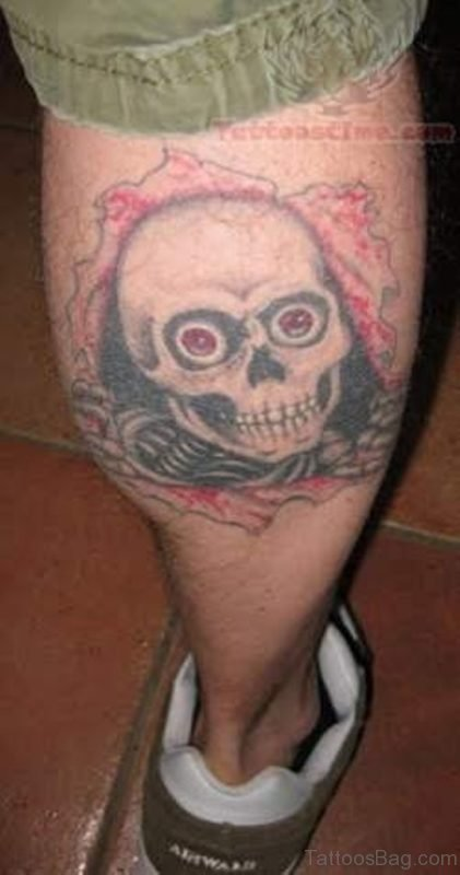 Classy Skull Tattoo
