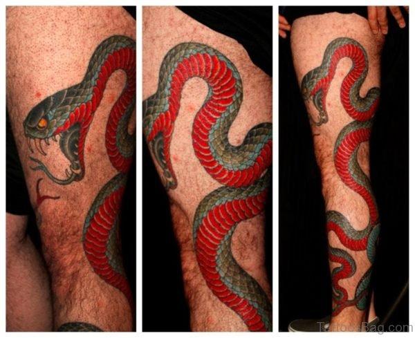 Classy Snake Tattoo
