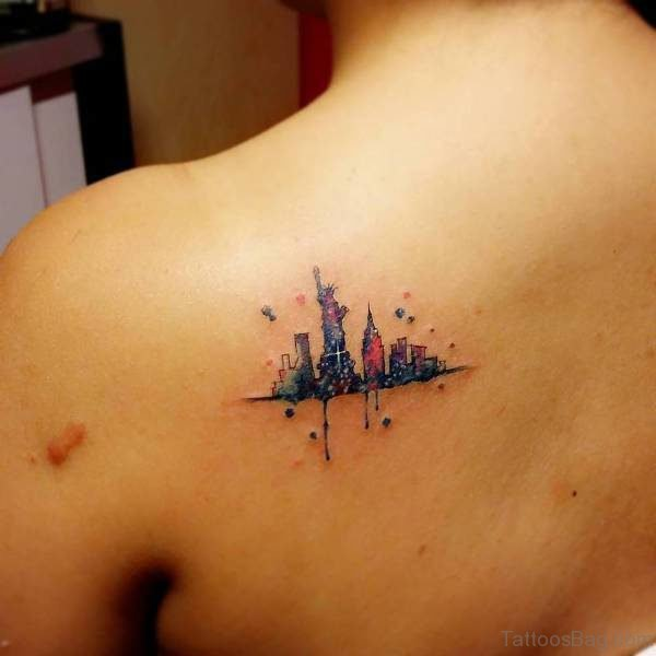 Colored Tattoo Design