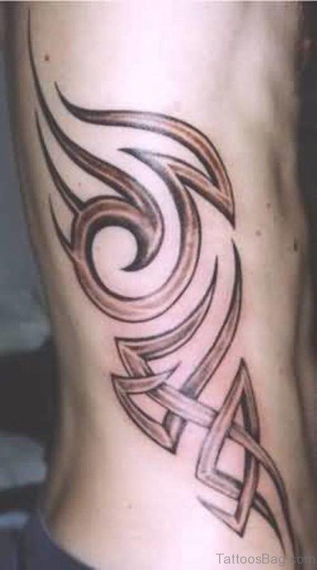 Colored Tribal Tattoo