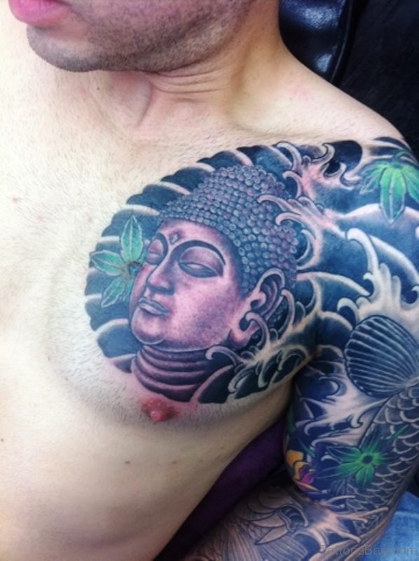 54 Dazzling Buddha Tattoo On Chest