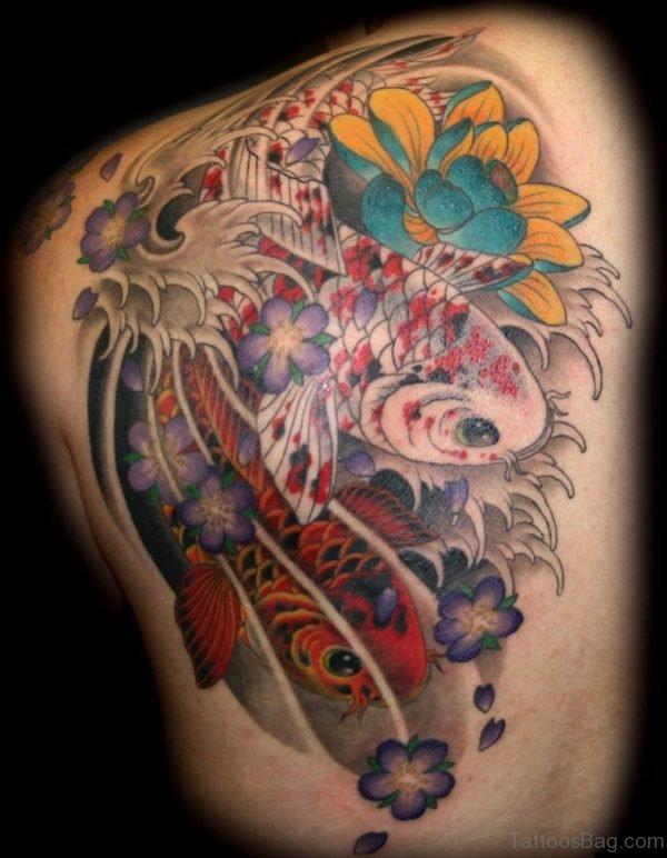 Colorful Fish Tattoo 2