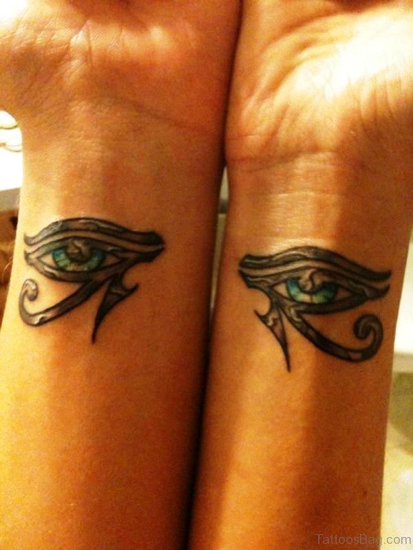Complimentary Wrist Tattoo