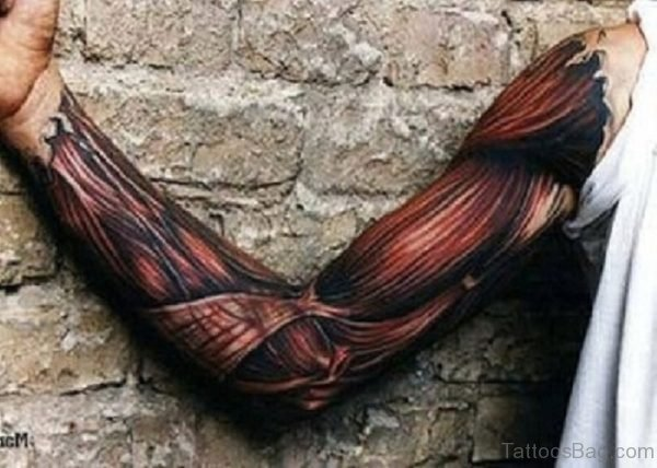 Cool 3D Full Sleeve Tattoo Designs for Men