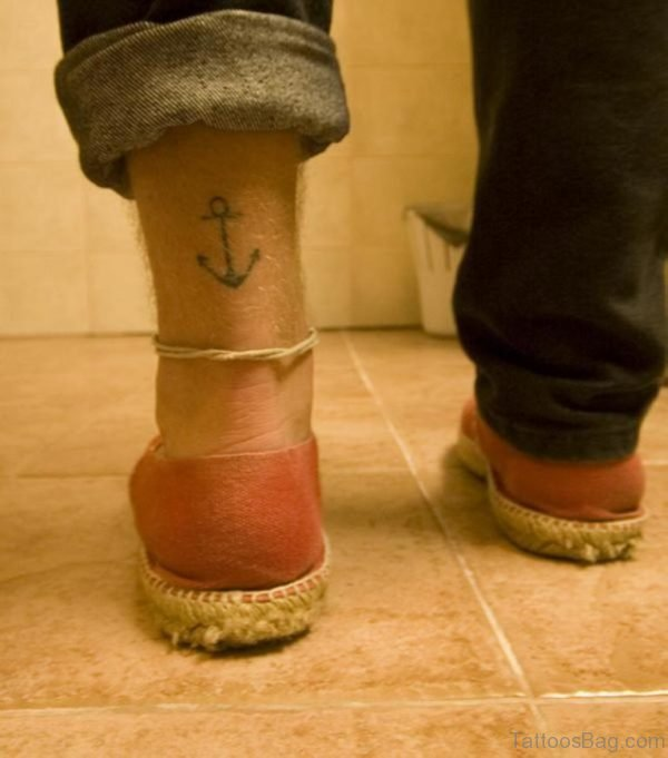 Cool Anchor Tattoo