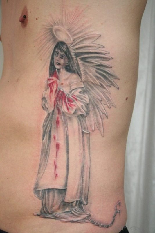 Cool Angel Tattoo
