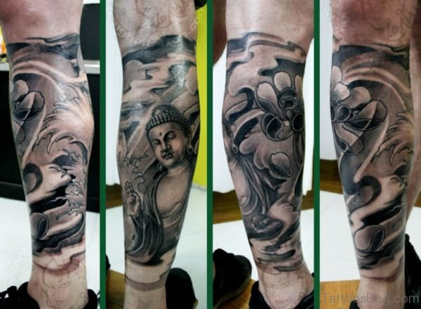 Cool Buddha Tattoo