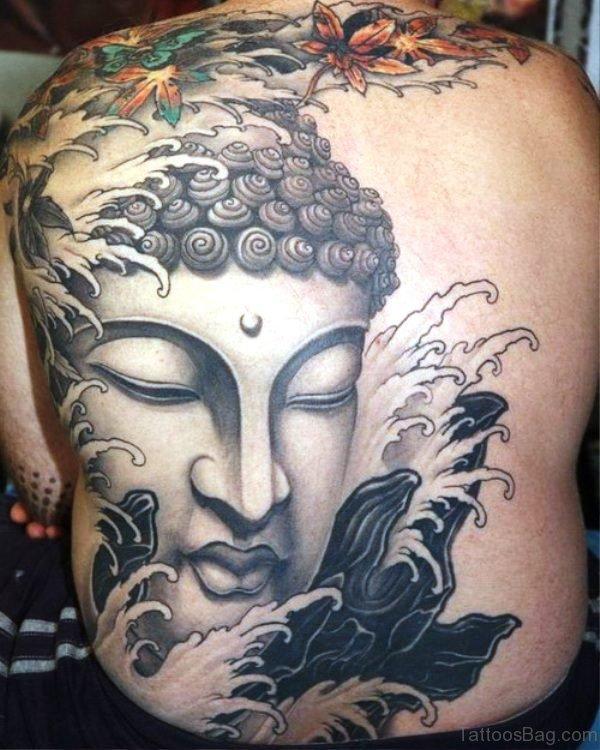 Cool Buddha Tattoo Design