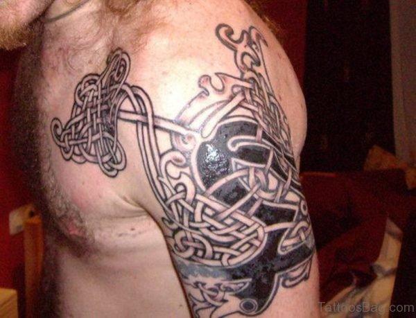 Cool Celtic Tattoo On Shoulder