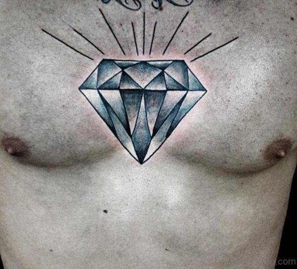 Cool Diamond Tattoo