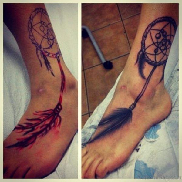 Cool Dreamcatcher Tattoo