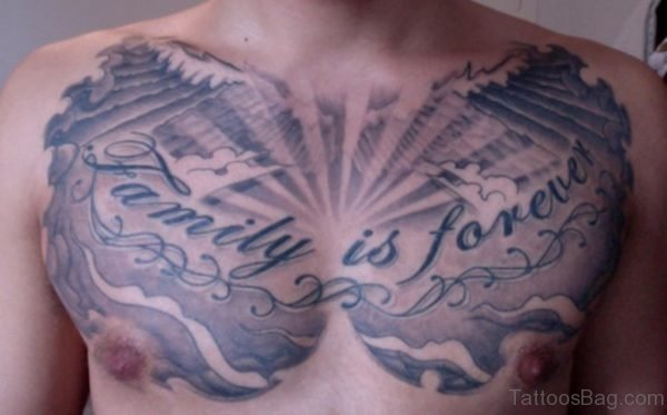 Cool Family Is Forever Tattoo