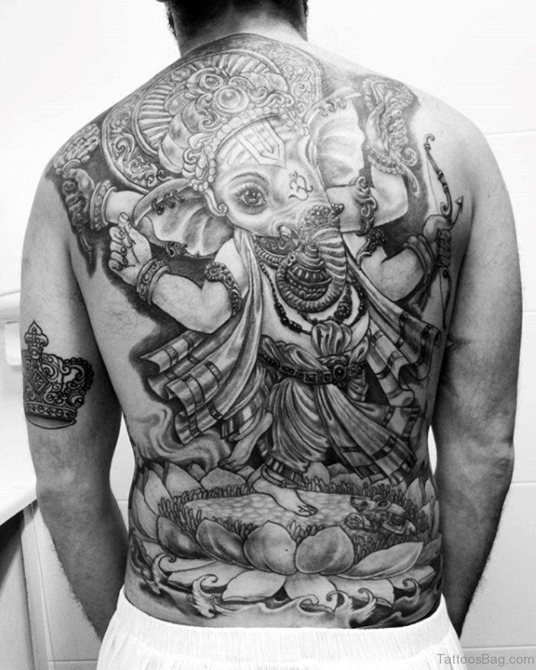 Tattoo Designs Ganapati: 50 Great Ganesha Tattoos On Back