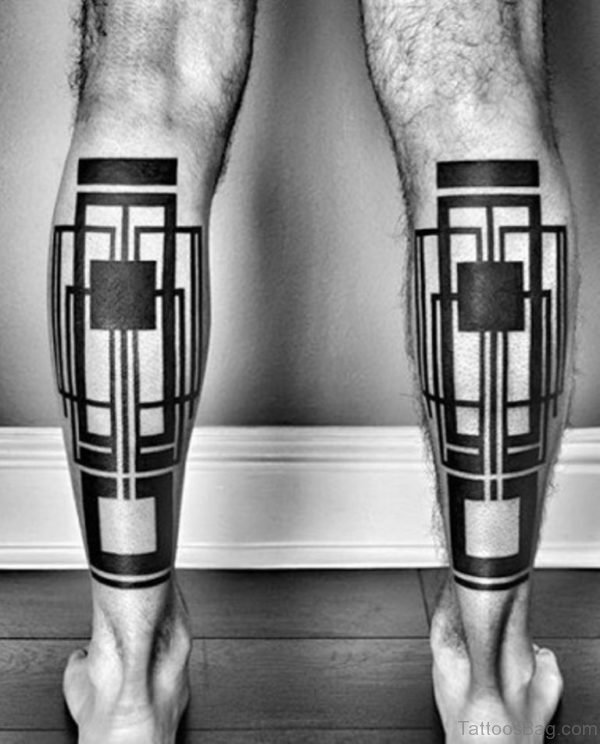 Cool Geometric Tattoo