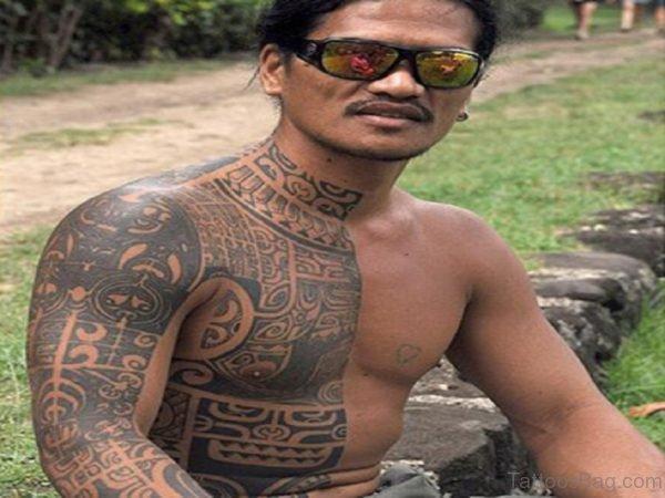 Cool Hawaiian Tattoo