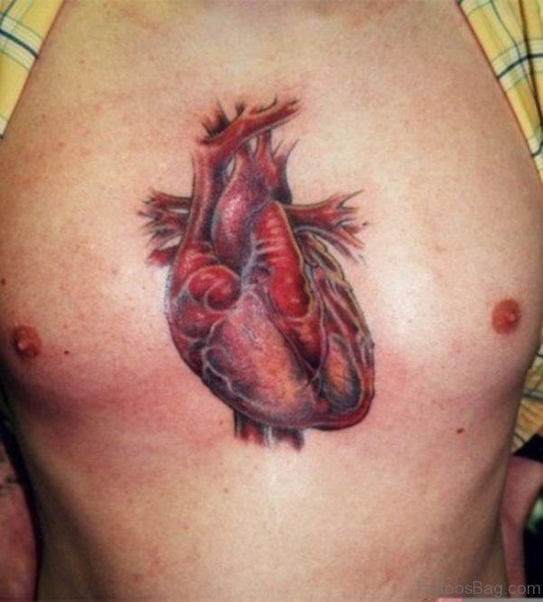 Cool Heart Tattoo Design