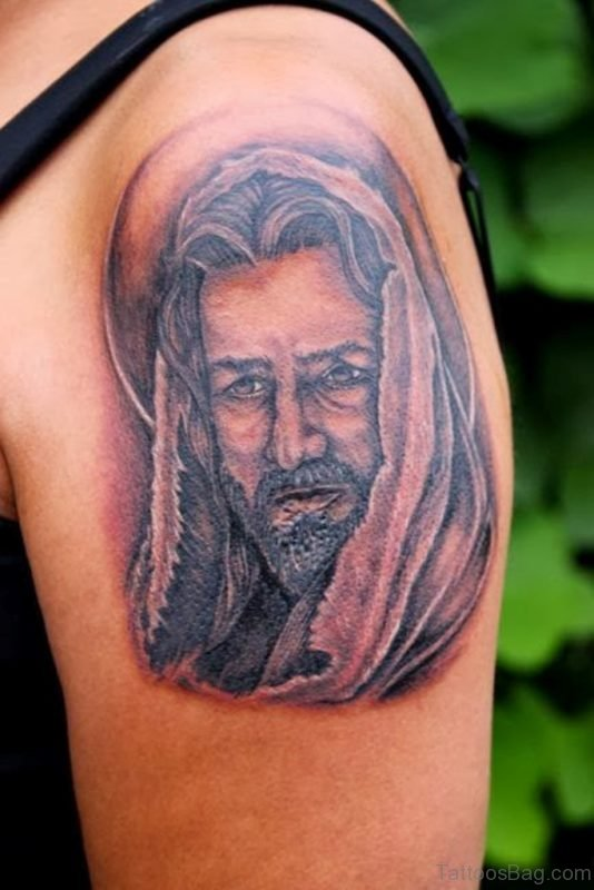 Cool Jesus Tattoo