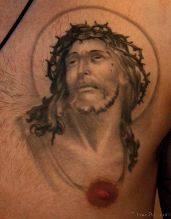Cool Jesus Tattoo