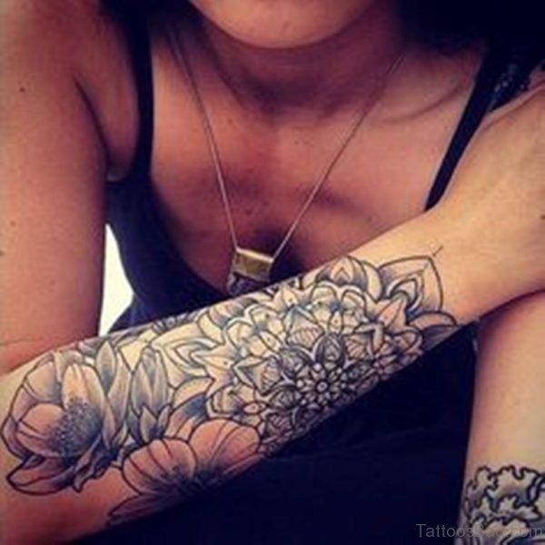Cool Mandala Tattoo On Arm