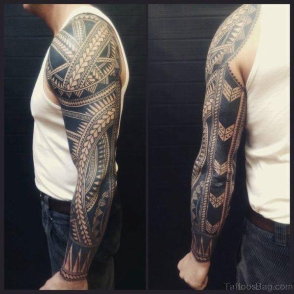 Cool Maori Tribal Tattoo