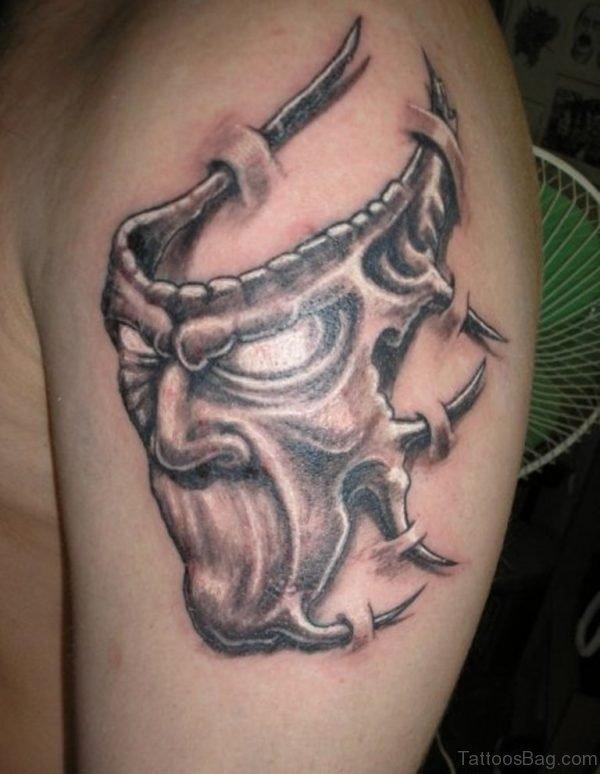 Cool Mask Tattoo