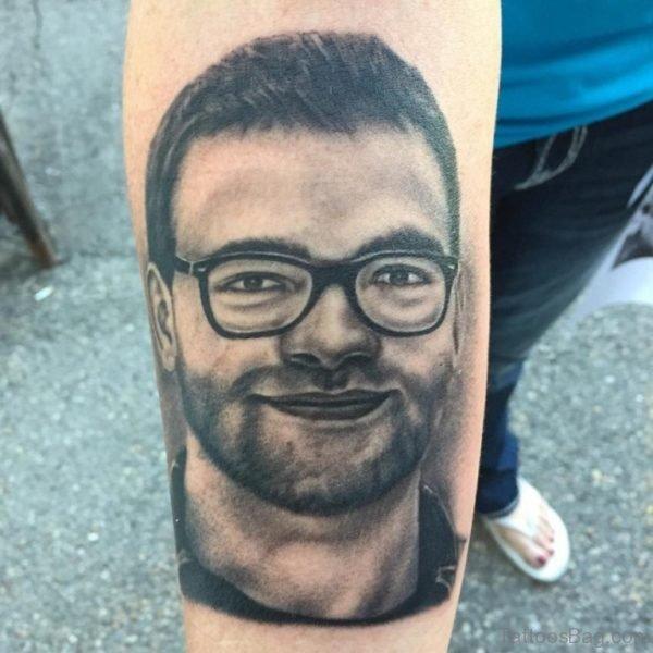 Cool Portrait Tattoo