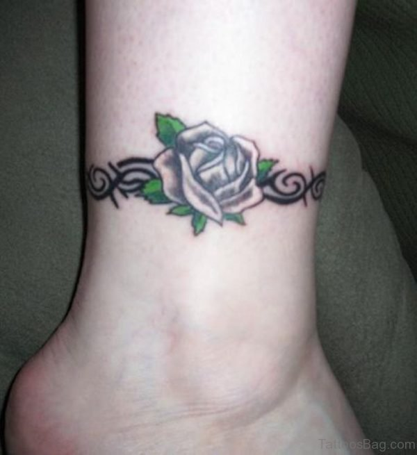 Cool Rose Tattoo