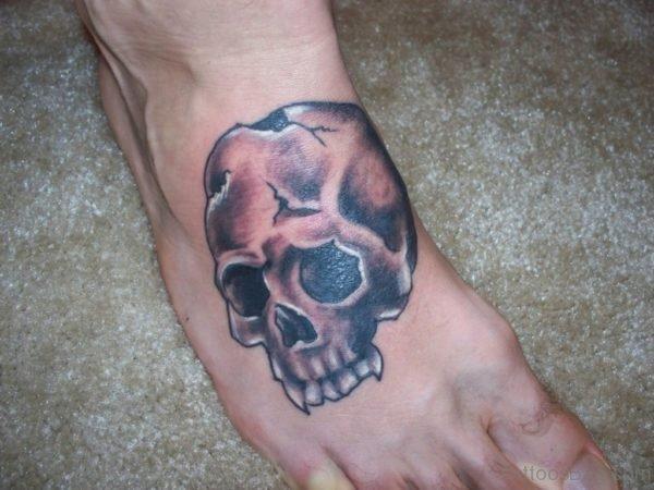 Cool Skull Tattoo Design