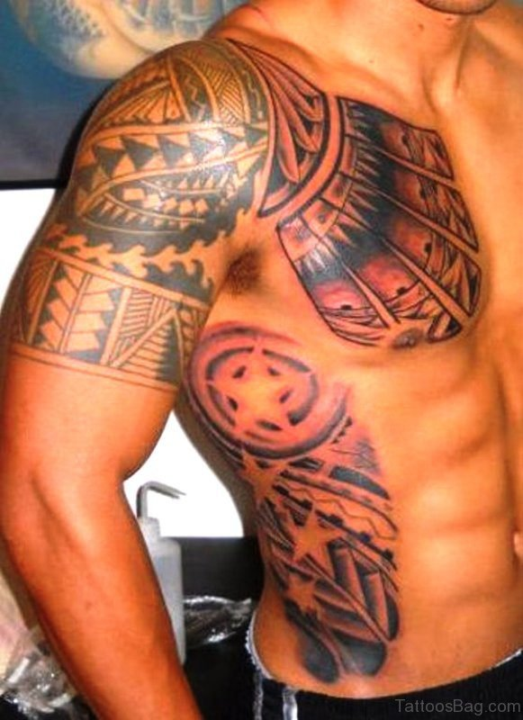 Cote Indian Armour Tattoo