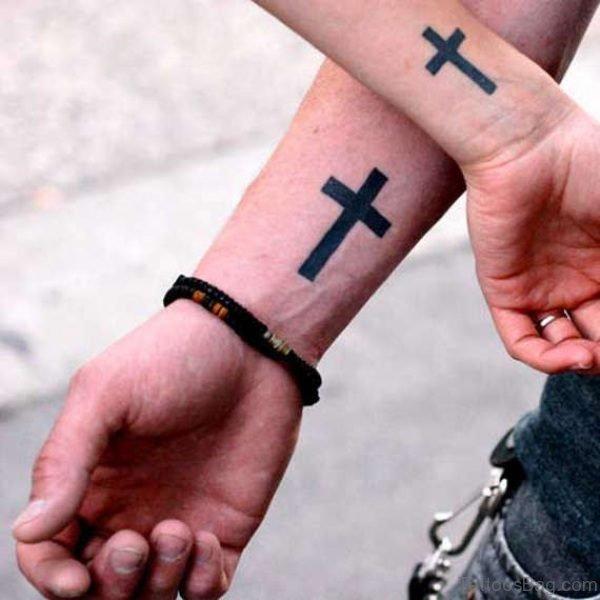 Cross Wrist Tattoos
