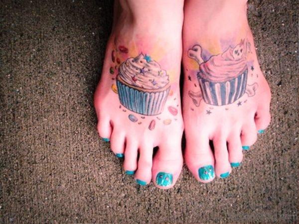 Cupcakes On Feet