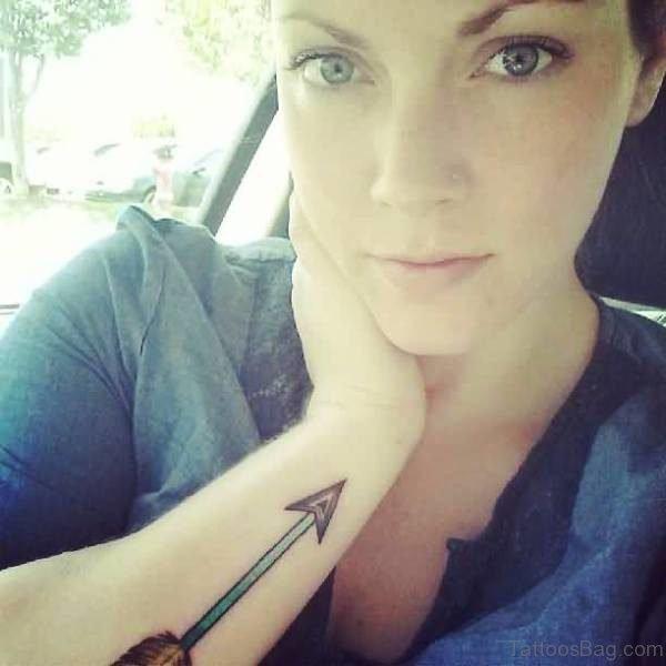 Cute Arrow Tattoo