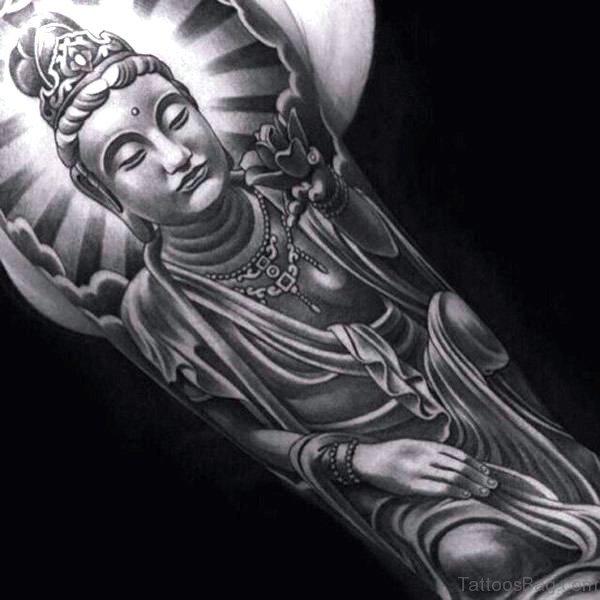 95 Brilliant Buddha Tattoos On Full Sleeve