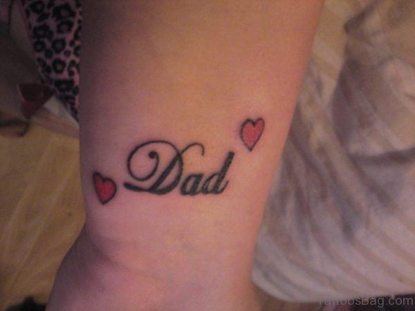 Cute Dad Tattoo