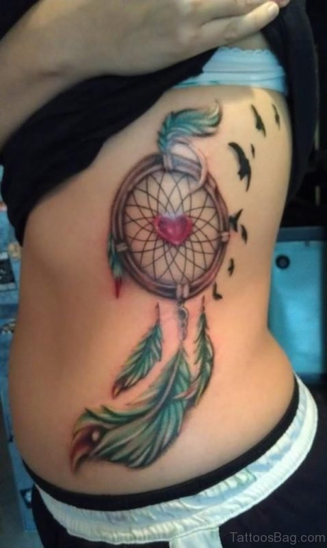 Cute Dreamcatcher Tattoo