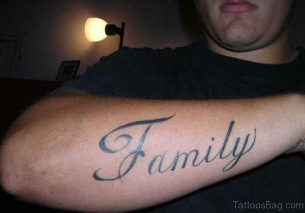 Cute Family Tattoo On Wrist