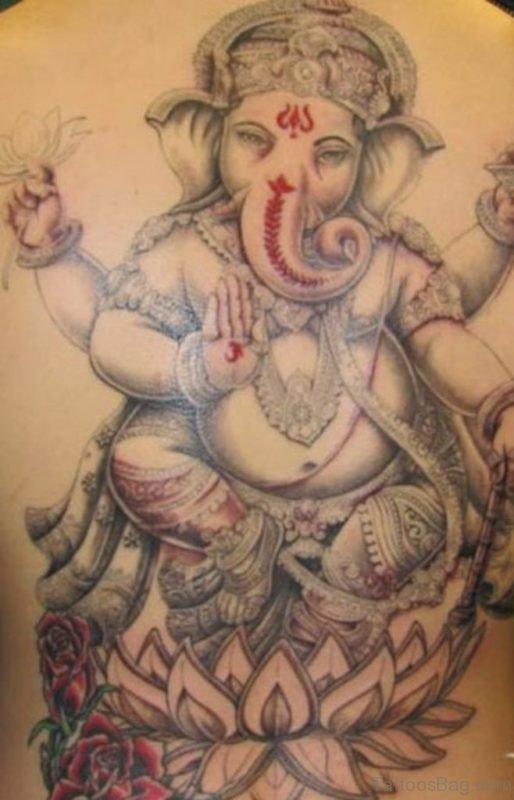 Cute Ganesha Tattoo