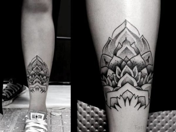 Cute Geometric Tattoo