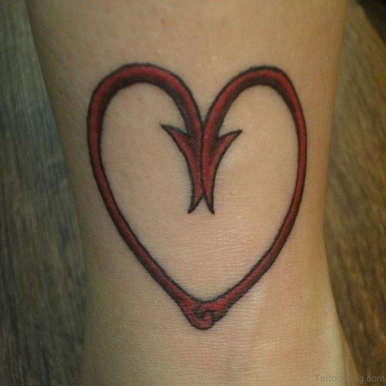 Cute Heart Tattoo Designs: 71 Mind Blowing Heart Tattoos On Leg