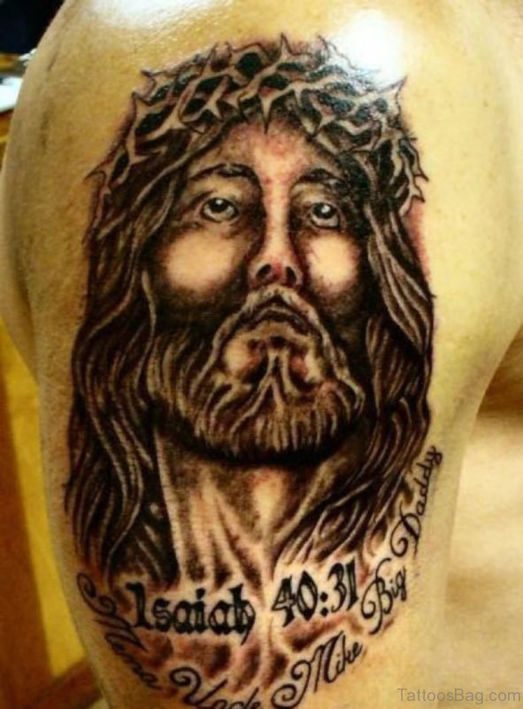 Cute Jesus Tattoo
