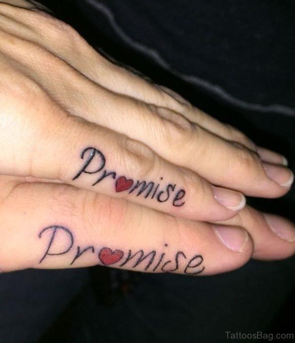 Cute Promise Tattoo