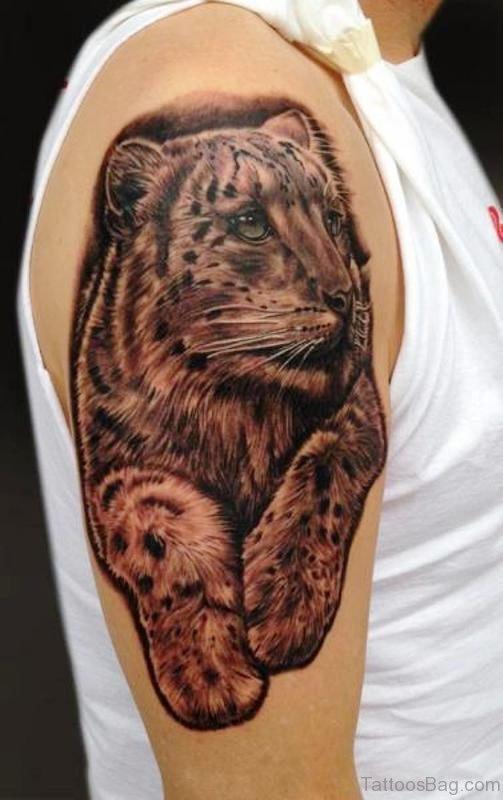Cute Realistic Tiger Tattoo