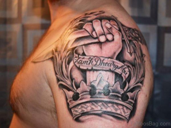 Dagger In Hand Tattoo