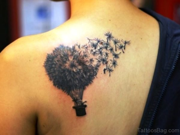 Dandelion Bulb Tattoo Design