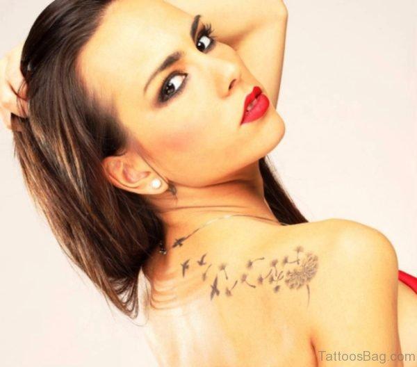 Dandelion Tattoo Picture