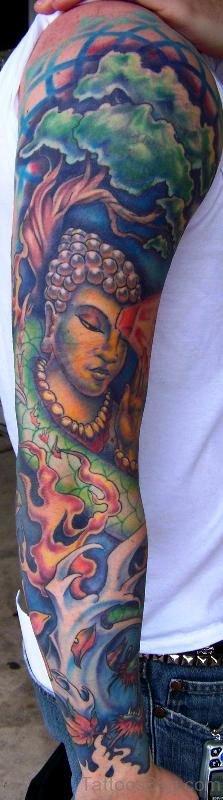 Dazzling Buddha Tattoo