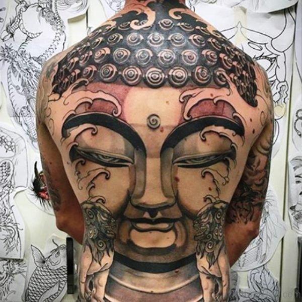 Dazzling Buddha Tattoo Design 1