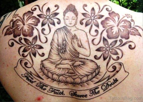Decent Buddha Tattoo Design 1