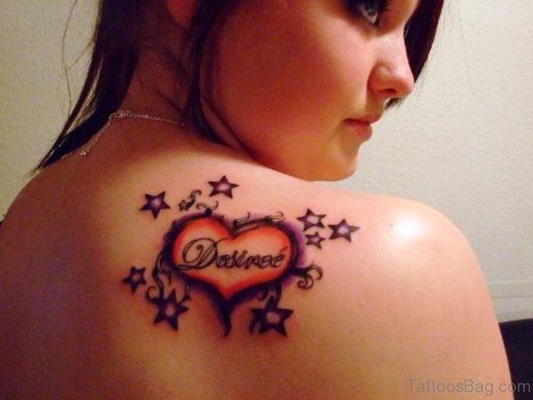 Desire Star Tattoo