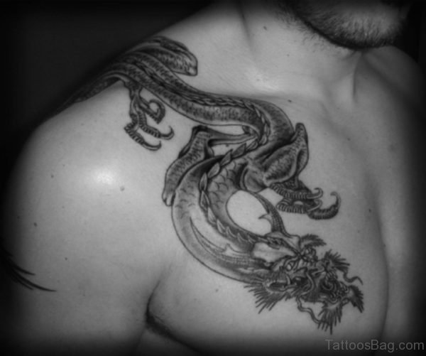 Dragon Pattern Japanese Tattoo